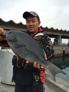 北九州の山澄さん、47cmクロGET