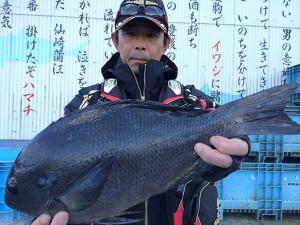 北九州の富田さん、43cmクロGET