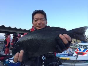 北九州の斎藤さん、45cmクロGET