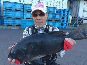 大牟田の坂井さん、49.5cmクロGET