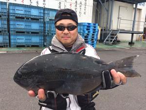 熊本の村田さん、43cmクロGET