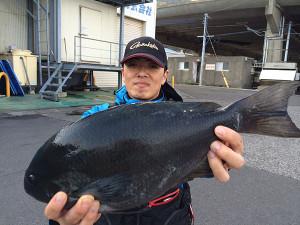 北九州の太田さん、45cmクロGET