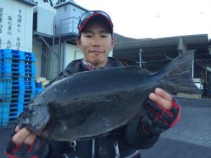北九州の篠隈さん、45cmクロGET