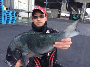 北九州の杉尾さん、47cmクロGET