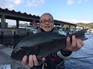 行橋の永江さん、42cmクロGET