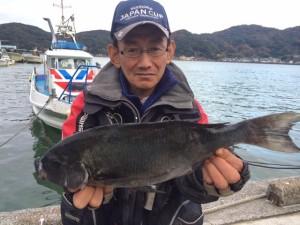 熊本の吉良さん、45cmクロGET