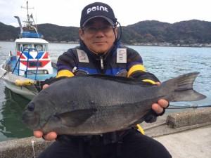 福岡の中村さん、45cmクロGET