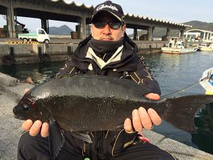 北九州の田中さん、49cmクロGET