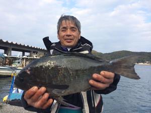 日田の後藤さん、43cmクロGET