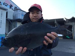 北九州の龍尾さん、44cmクロGET