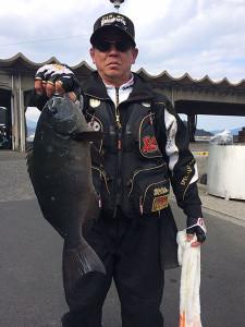 田川の橋本さん、50cmクロGET
