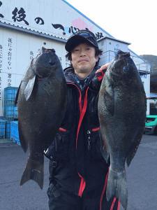北九州の佐藤さん、良型クロGET