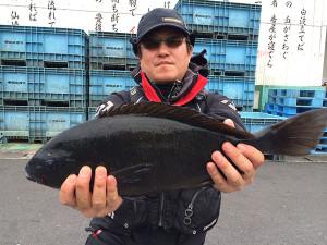 山口の吉村さん、50.5cmクロGET