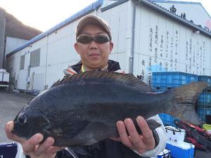 田川の星野さん、46cmクロGET