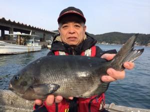 北九州の平川さん、43.5cmクロGET