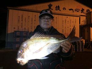北九州の広吉さん、57cm真鯛GET