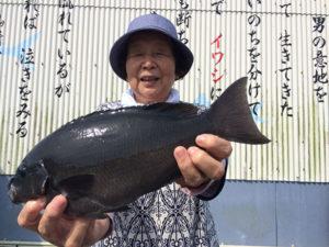 宮崎の古田さん、磯釣りを楽しんだ