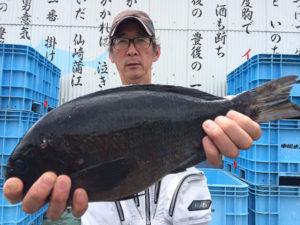 北九州の山崎さん、43cmクロGET