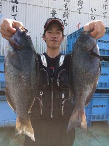 北九州の篠隈さん、48.45cmクロGET