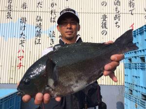 大分の岡田さん、43cmクロGET