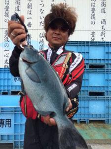 福岡の沖さん、46.5cmクロGET