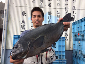 臼杵の姫野さん、47cmクロGET