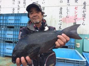 北九州の中納さん、43cmクロGET
