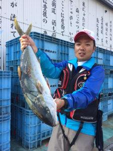 熊本の山下さん、70cmヒラマサGET