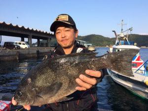 北九州の伊丹さん、48cmクロGET