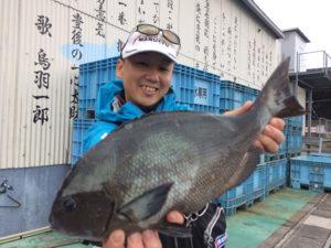 宮崎の石川さん、43cmクロGET