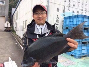 北九州の杉尾さん、44.5cmクロGE