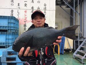中津の谷口さん、47cmクロGET