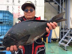 中津の用松さん、48cmクロGET