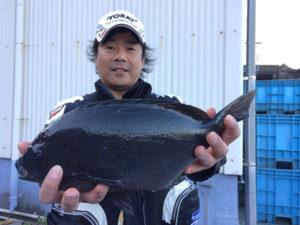 北九州の田中さん、良型クロGET