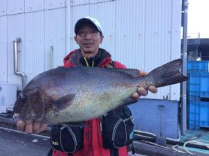 北九州の加藤さん、55cmコロダイGET
