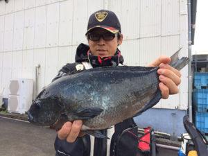 北九州の中村さん、45cmクロGET