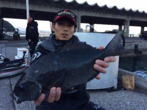 熊本の黒原さん、43cmクロGET